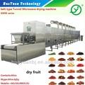 Industrial de alimentos el secador del túnel/chile máquina de secado/alimentos de deshidratación equipos