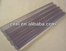 De policarbonato transparente de varillas de plástico, de plástico transparente de la barra de pc, varillas de plástico