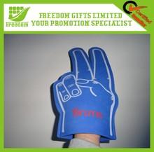 Logo Printed Promotional Cheering Sponge EVA Finger