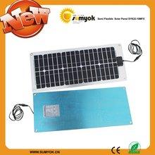 22W 12V solar panel for camper / caravan / boat 22 watt CE/ROSH approved SYK22-18MFX