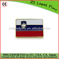 La bandera de eslovenia / pins eslovenia / pins personalizados de la bandera