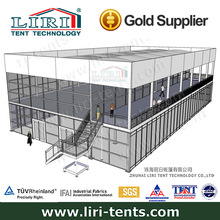 2014 New design 20m*35m inflatable roof cube tent from Liri Tent for sale
