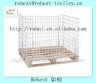 Surpermarket Chrome Plating Folding Storage Metal Cage(RHB-GP003)