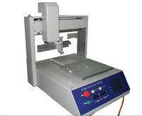 Desktop SMT production line PCB board double valves automatic glue potting machine