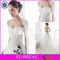 xl416 neckline do querido ver através do espartilho bonito apliques de renda azul royal e branco vestidos de noiva