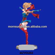 Dancing Hot Handmade Resin Decorative Sexy Super Girl