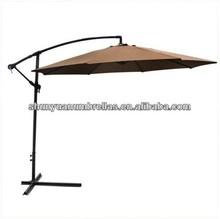 Patio Umbrella Offset 10' Hanging Outdoor Market Tan Shade Big Deck high quality umbrella manufacturer