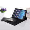 compatible Aluminum wireless bluetooth keyboard with leather case for ipad air keyboard