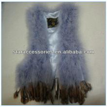 Wholesale 2014 new fashion trend rabbit faux fur vest