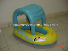 2014 durable pvc inflatable baby boat