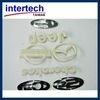 Plastic car logo mold
