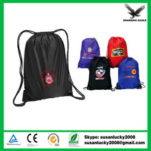 Promotional Small Nylon Mesh Polyester Drawstring Bag (directly from factory)