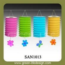 2014 New year paper lantern garland