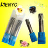 Senyo-Solid Carbide V-Shape Corner Radius End Cutting Tool/CNC Metal Cutting Welded Round Nose Cutter