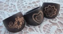 Fashion wholesale wood ring