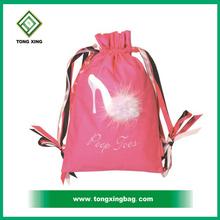 Peep Toes Drawstring Shoe Bag