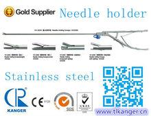 Surgical needle holder for laparoscopic &reusable needle holder&titanium needle holder&