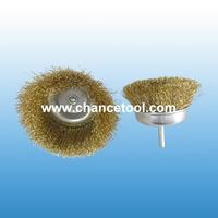 Brass wire cup brush OT036