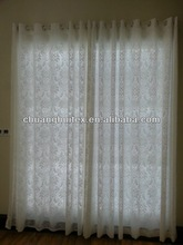2013 New Arrival beautiful white elegant sheer curtains