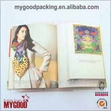 Good quality bottom price adult hardback book magazine