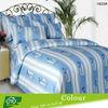 Printed bedding set cotton satin
