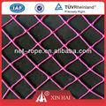 De color 210d/3-600ply 12mm-2000mm decorativos de compensación para la decoración de navidad de malla de red