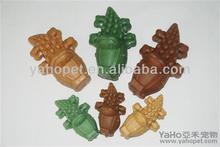 Belle crocodile sharp dog treats de la chine, Meilleur chien alimentaire coco bébé