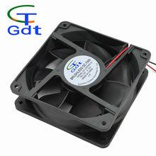 GDT 12038 quiet dc cooling fan 12v 120x120x38mm 120mm 12v notebook cpu cooling fan