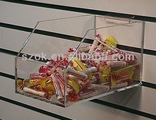 Cheap wall mount large clear plastic acrylic bulk candy container wholesale