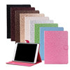 Diamond Bling Leather Smart Flip Cover Stand Case For Ipad 5,For Ipad 5 Screen Protector