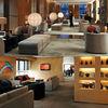 Hotel public areas furniture,Lobby sofa,Public leisure sofa,Wood tea table (EMT-SHL65)