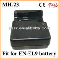 2014 quente novo modelo de carregador para nikon mh-23 EN-EL9