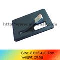 Venta al por menor de negocio tarjeta de memoria usb 2gb 4gb, impulsión del flash del usb de tarjetas de visita 2gb, la tarjeta de visita usb flash de 4gb