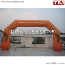 advertisement arch inflatable gate