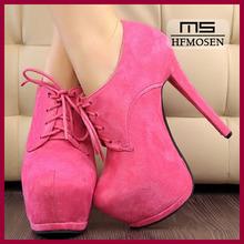 S4269 fashion shoes wholesale women's pump shoes 2013 new korean stylish lace platform shoes high heels