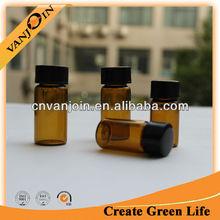 Tubular Amber Glass Vials 5ml