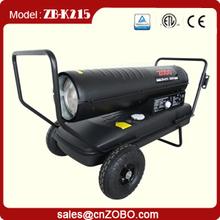 CE diesel wicker patio heater