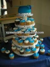 cupcake stand cardboard/cupcake stands wholesale/designer cake stan