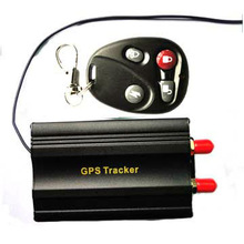 Wholesale retail Xmas promotion Car gps tracker TK103,support engine stop &fuel monitor