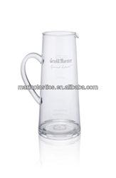 BPA free Plastic water jug with handles