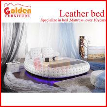 NEW!!! B6821# foshan furniture market round platform bed