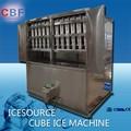 cubo de gelo que faz a planta para bebidas e indústria do vinho