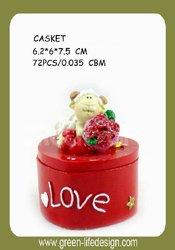 Decorative pet casket for wholesale