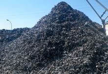 "Light Shredded Steel Scrap with Density "" 850 k.g /cubic meter"