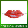 Customized Lip Shaped Plastic Cheap Inflatable Toys