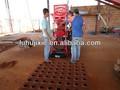 tijolo ecológico modular 2700 máquina de blocos de terra compactada máquinas