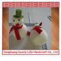 decoraciones fabricantes del muñeco de nieve de Navidad