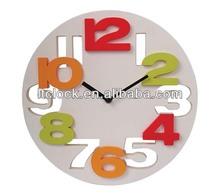 3D digital wall clock