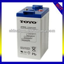 2v Dry charge batteries 2v 500AH