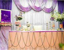 Party decoration backdrop curtain for wedding and event decoration